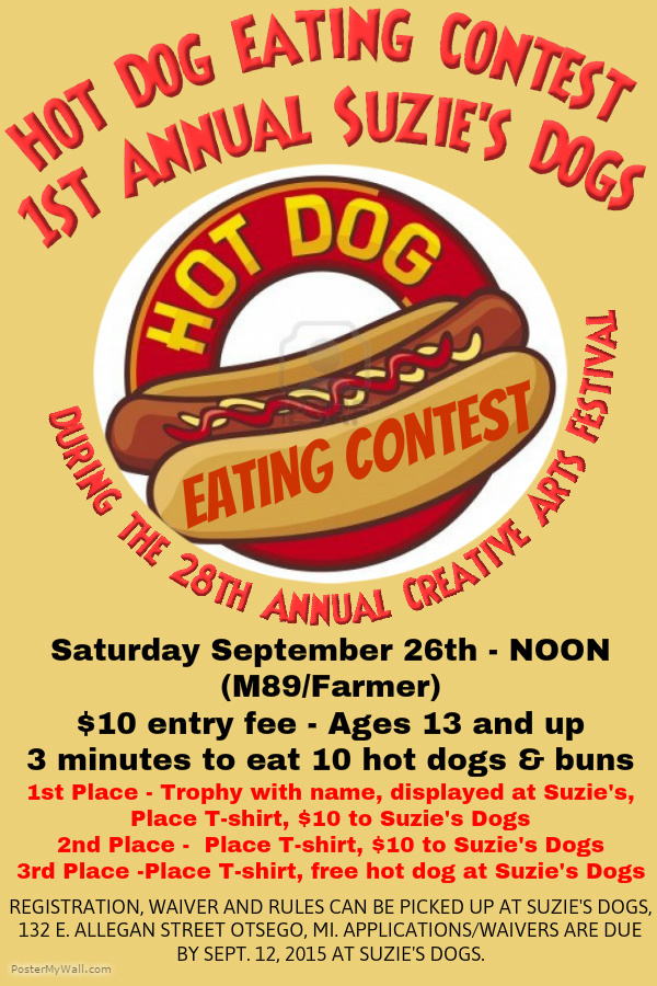 Hot Dog Eating Contest Rules